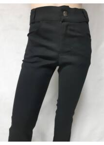 fekete cső szárú fiú nadrág