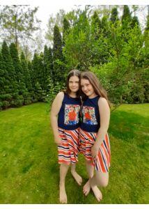Öves loknis ujjatlan nyári ruha