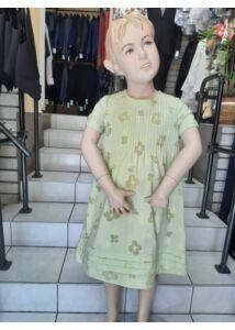 Zöld nyári piés ruha ANNBOR AKCIÓS