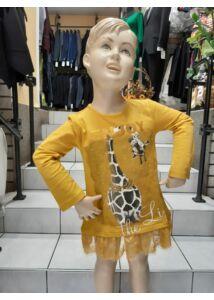 Mustár kis ruha