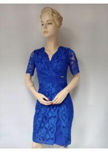 Királykék csipke ruha Mysticday