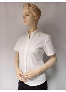 női fehér rövid ujjú ing