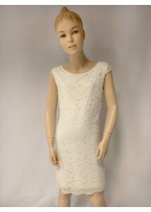 pezsgő színű tini lány ruha konfirmálásra- elsőáldozásra