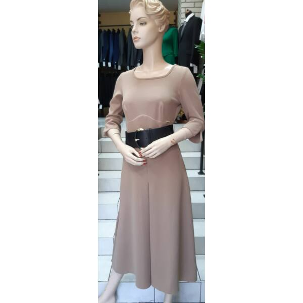Mogyoró színű MYSTICDAY ruha