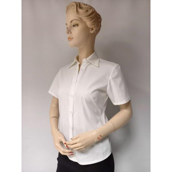 Női fehér ing rövid ujjú