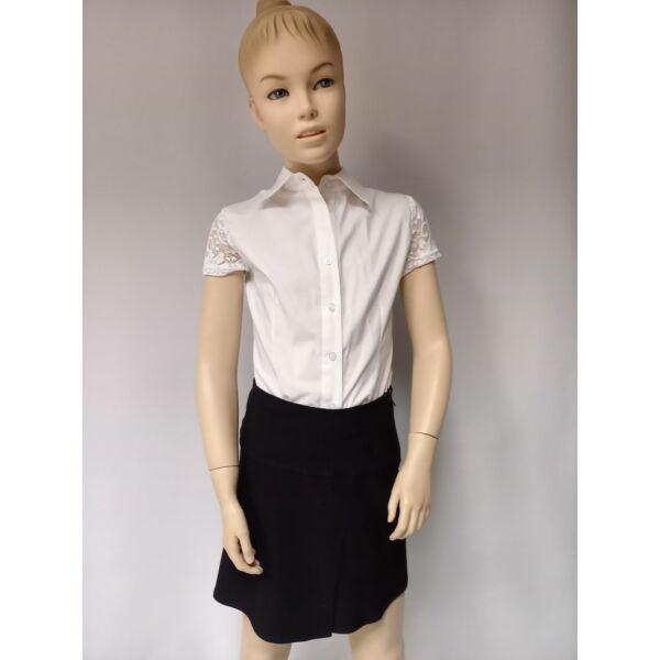 Fekete lányka mini szoknya
